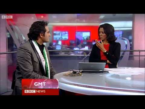 Malek Jandali on BBC World News in London