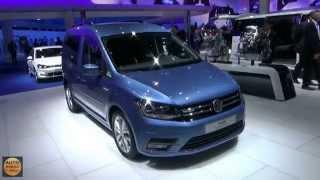 2016 - Volkswagen Caddy Blue Motion - Exterior and Interior - IAA Frankfurt 2015