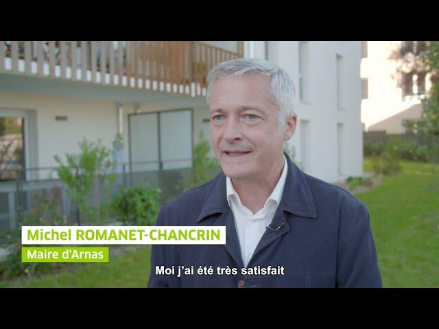 ALILA – Inauguration DOMINO à Arnas - Michel ROMANET-CHANCRIN – Maire d'Arnas