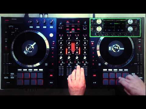 Numark NS7II Vintage Vibes - Pad and Scratch Performance