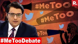 'Me Too' Campaign Takes India By Storm | The Debate With Arnab Goswami