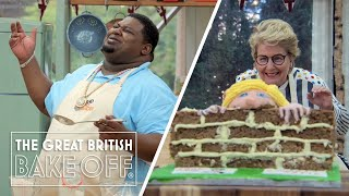 Big Narstie goes rogue on Bake Off - with help from Sandi! | The Great Stand Up To Cancer Bake Off
