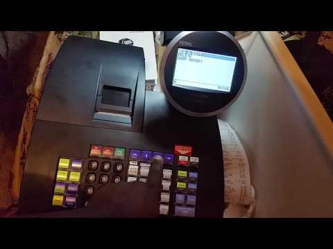 ROYAL ALPHA 1100ML CASH REGISTER, PLU, DAPERMENT PROGRAM AND TRAINING MODE
