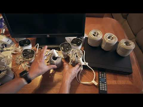 PART 3 of the unboxing the Lorex 4K IP Active Deterrence Security Camera NVR system