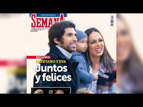 Eva González Y Cayetano Rivera Vuelven A Aparecer Juntos Sonriendo