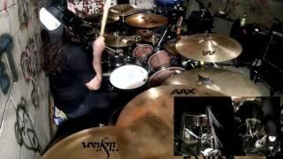 Glen Monturi - Walk With Me In Hell (Lamb of God Drum Cover)