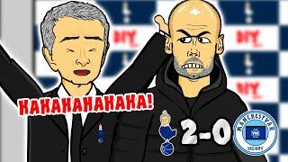 🤣HAHAHA! Spurs 2-0 Man City!🤣 (Every Premier League Manager #25)