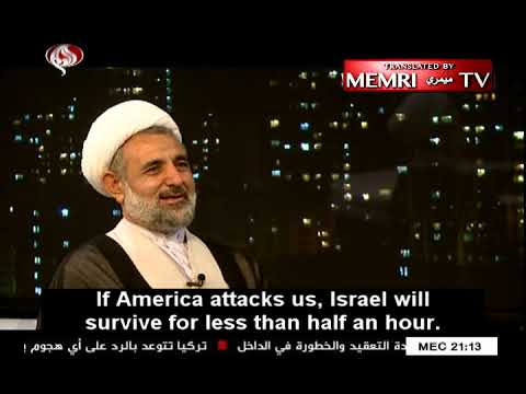 Iranian National Security Official: If America Attacks, We Will Destroy Israel Within 30 Minutes