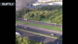 Пожар на складе типографии в Москве, погибли 17 человек(, 2016-08-27T10:04:51.000Z)