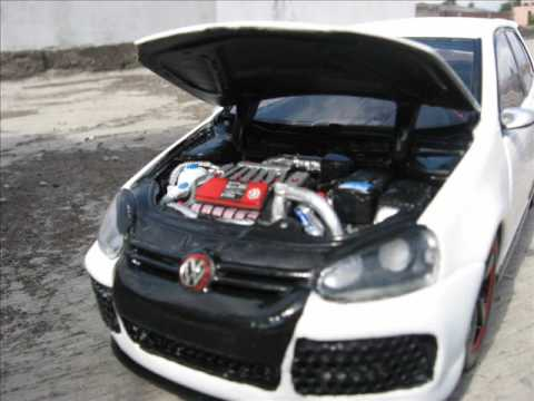 vw golf v r32 turbo diecast tuning 1 18 youtube. Black Bedroom Furniture Sets. Home Design Ideas