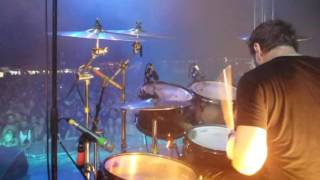 "Therapy?-""Still Hurts"" DRUM_CAM Boerenrock Festival, Belgium 27th Aug 2016"