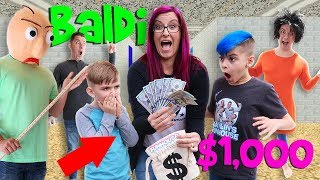 Last To Leave Baldi's School House Wins $1,000!