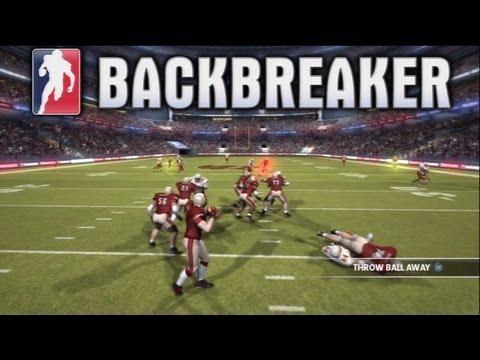 BACKBREAKER -  BIG HITS & NO OFFENSE! - Live Comm #1