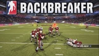 BACKBREAKER -  BIG HITS & NO OFFENSE! - Live Comm #1