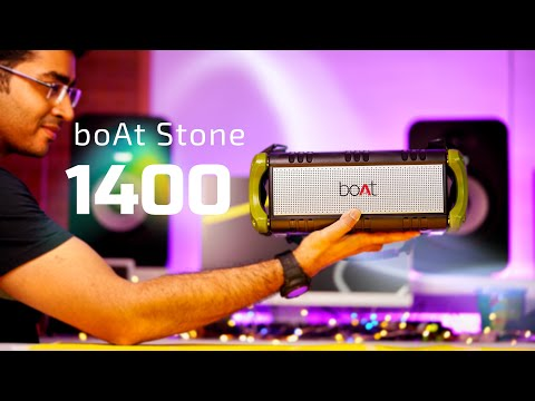 boAt Stone 1400:ULTIMATE UNBOXING,REVIEW & SOUND TEST