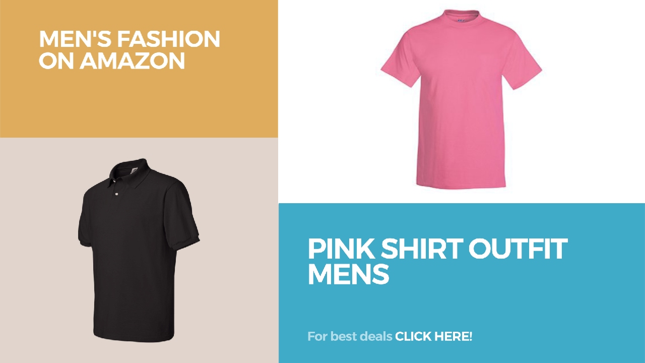 c9d582eb6a1 Pink Shirt Outfit Mens Men's Fashion On Amazon - YouTube
