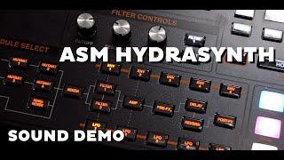 ASM Hydrasynth - Sound Demo (No Talking)