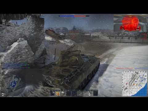 War Thunder: Panther x4 Kill of 6