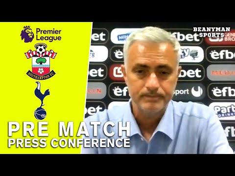 Jose Mourinho - Southampton V Tottenham - Pre-Match Press Conference