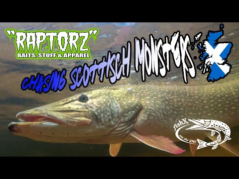 RAPTORZ - Chasing Scottish Monsters On The Fly (PIKE FLY FISHING)
