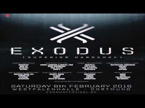 [Exodus Festival 2016] Angerfist, Miss K8, Outblast & Dyprax | Grand Masters