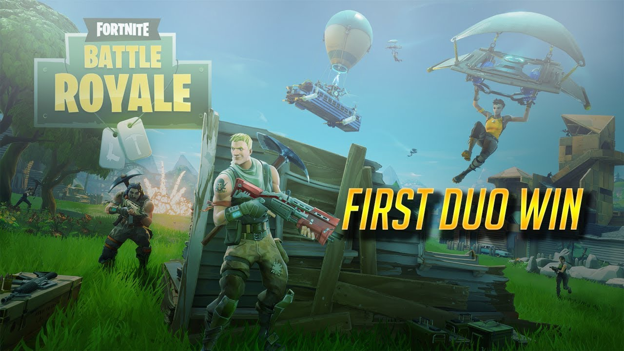 First Duo Win Fortnite Battle Royale