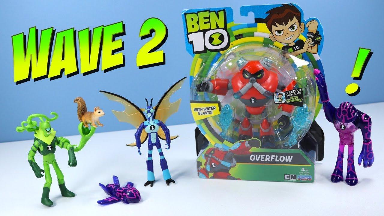 Ben 10 Reboot 2017 Action Figures Overflow Upgrade Wildvine Stinkfly Review