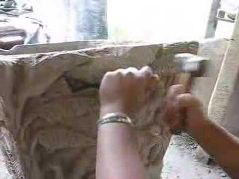 cement art sculpture