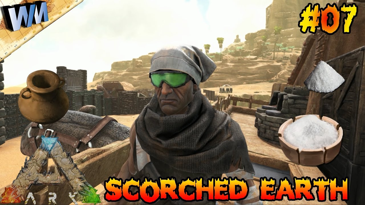 Ark scorched earth ep07 dyes salt vessles all the blueprints youtube premium malvernweather Image collections