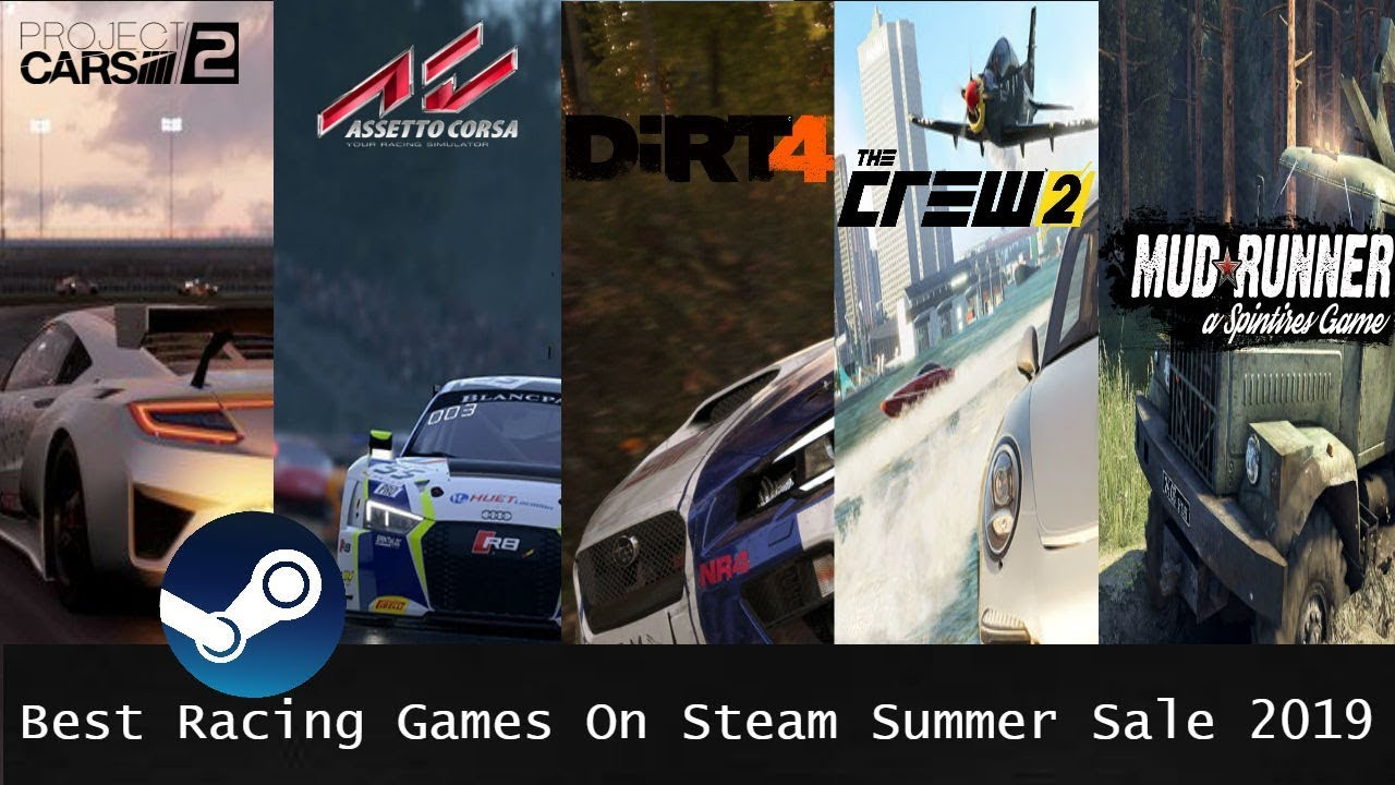 Best Racing Games to Buy on The Steam Summer Sale 2019 | S Driving