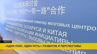 Проект «Один пояс, один путь»: перспективы обсуждают в Минске thumbnail