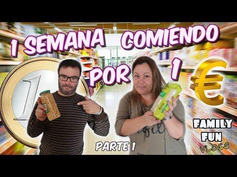 Download Youtube: UNA SEMANA COMIENDO POR 1€ - Parte 1 Family Fun Vlogs