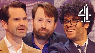Bloopers Pt 1 | LOSING IT at David Mitchell's Joke Attempt | Was It Something I Said