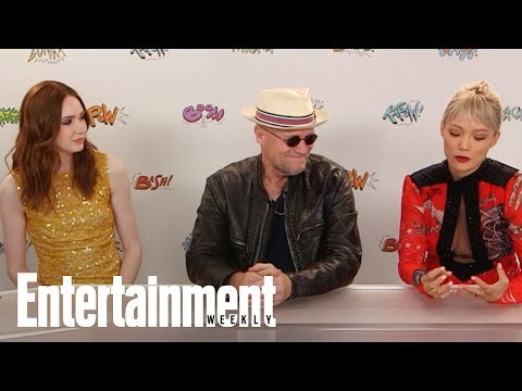Michael Rooker Fell Asleep During Guardians Of The Galaxy Funeral  SDCC 2017  Entertainment Weekly