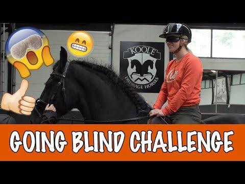 BLIND PAARDRIJDEN OP VITO  | PaardenpraatTV