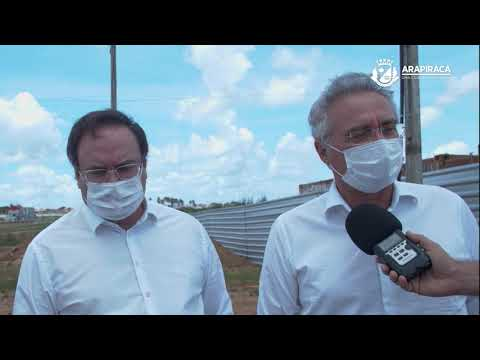 Prefeito Luciano assina ordem de serviço para construção do Centro de Convenções
