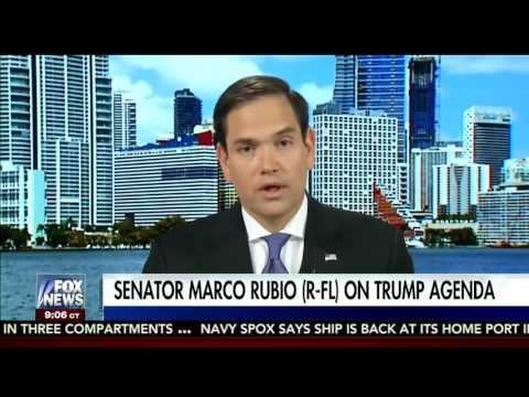 Rubio Discusses Cuba Policy, Health Care And Tax Reform On Fox News Sunday Morning Futures