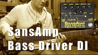 Tech21 Sans Amp Bass Driver DI - Review