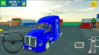 Cargo Crew Port Truck Driver New Vehicule UNLOCKED (Freight Box) #4 - Android Gameplay FHD