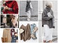 How To Wear Oversized Sweater  - Trendy Winter Outfits Ideas 2018 \ 2019