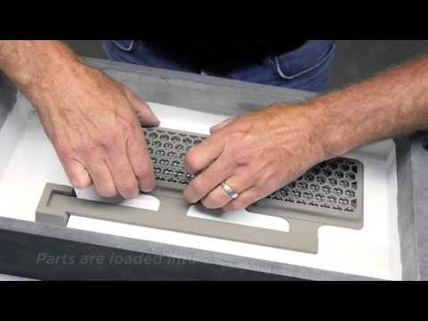 Binder Jetting 3D Printing Process
