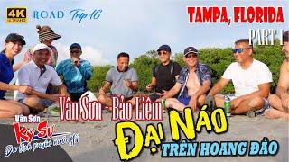 TAMPA, FLORIDA |  Vân Sơn & Bảo Liêm Đại Náo Trên Hoang Đảo | RV Road Trip 17
