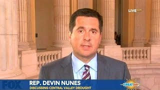 Congressman Nunes on Drought and Iran Nuclear Deal