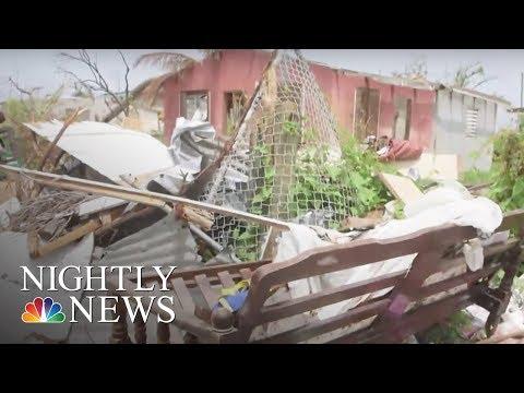 After Irma, Volunteers Bring Hope to Barbuda's Children | NBC Nightly News