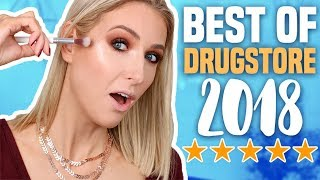 Download BEST DRUGSTORE MAKEUP of 2018... SO IMPRESSED! Mp3 and Videos
