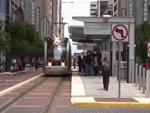 Houston Metro Light Rail (Red Line) In 2005
