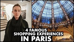 4 Famous Shopping Experiences in Paris