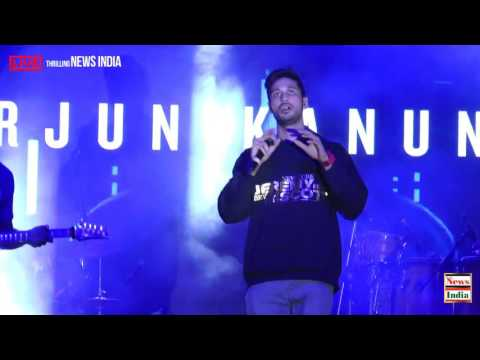Arjun Kanungo was LIVE In Concert at Forum mall,Kormangala