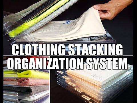 EZSTAX Sistema di organizzazione abbigliamento small
