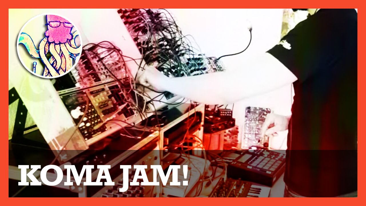 koma kommander modular synth jam w microbrute vermona drm 1 ttnm youtube. Black Bedroom Furniture Sets. Home Design Ideas